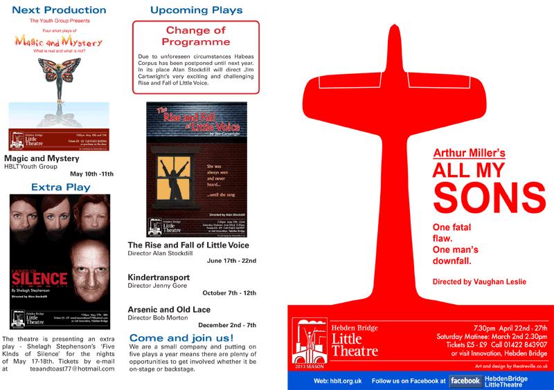 Hebden Bridge Little Theatre - All My Sons