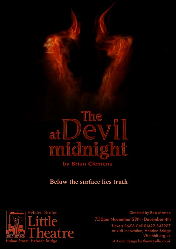 The Devil at Midnight poster