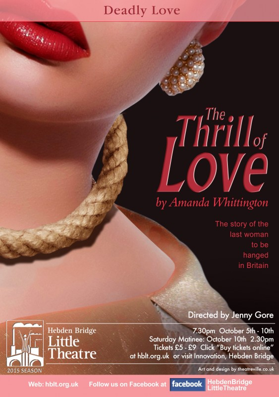 the thrill of love poster
