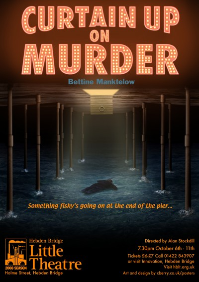 Curtain Up On Murder poster