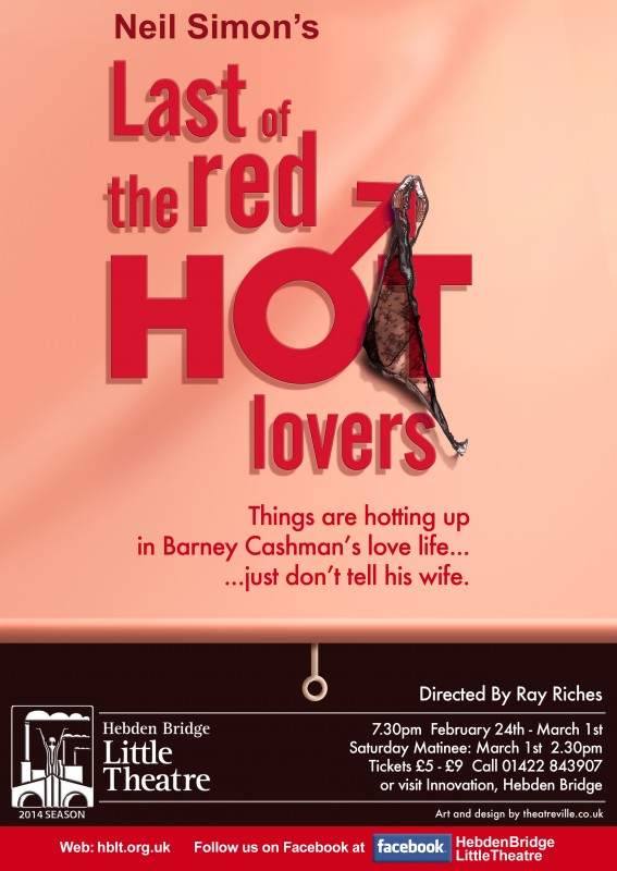 Last of the Red Hot Lovers poster