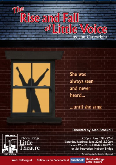 The Rise and Fall of Little Voice poster
