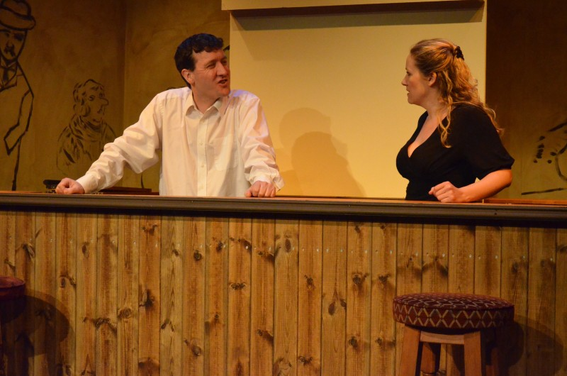 Two: Nigel Jamieson as Landlord, Trish Ellis as Landlady