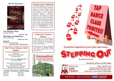 Stepping Out programme
