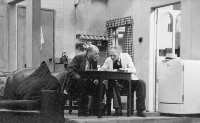 Hebden Bridge Little Theatre 10th to 17th March 1956. James Henderson and Jack Heyworth