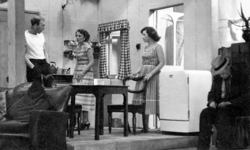Hebden Bridge Little Theatre 10th to 17th March 1956. Frank Crossland, Shieley Webster, James Henderson Gladys Thornber.