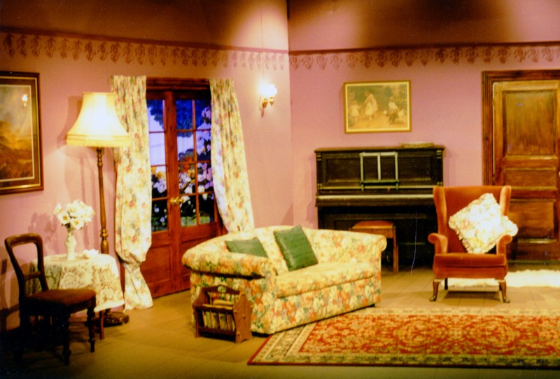 Set for When We Are Married, J.B. Priestley, 29 April-4 May, 1996, directed by Jennifer Crossley.