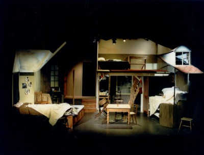 Set for The Diary of Anne Frank
