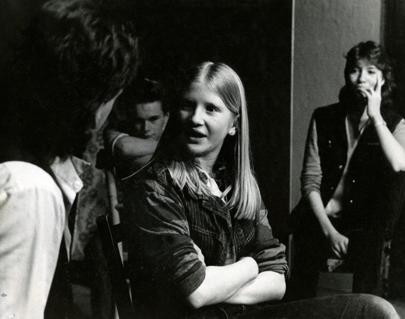 Members of Youth Group Improvising, 1985