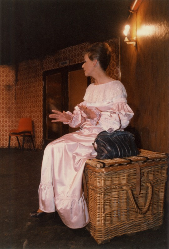 Ten Times Table, by Alan Ayckbourn, 14-19 March 1988, directed by Sue Morris. Featuring Anne Lomas as Helen.