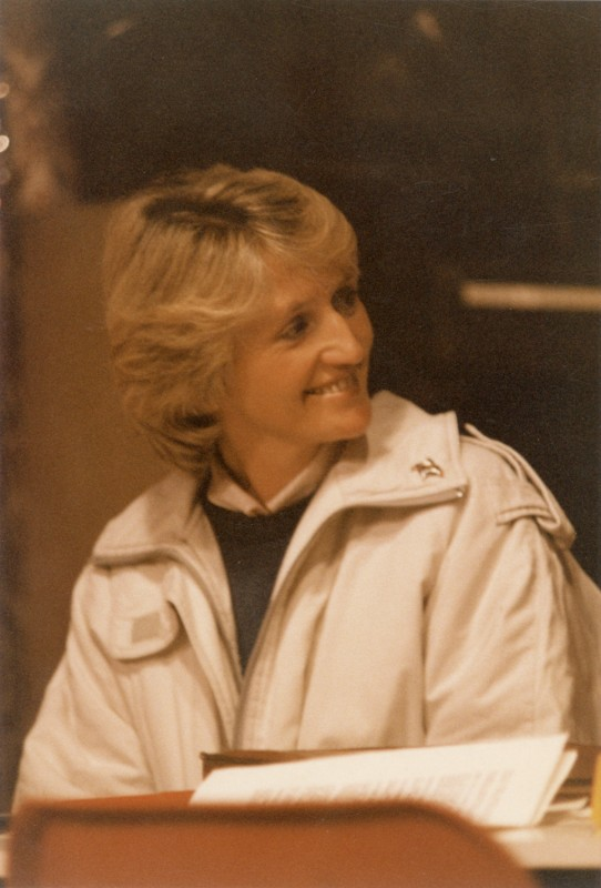Ten Times Table, by Alan Ayckbourn, 14-19 March 1988, directed by Sue Morris. Featuring Sue Riches as Sophie.