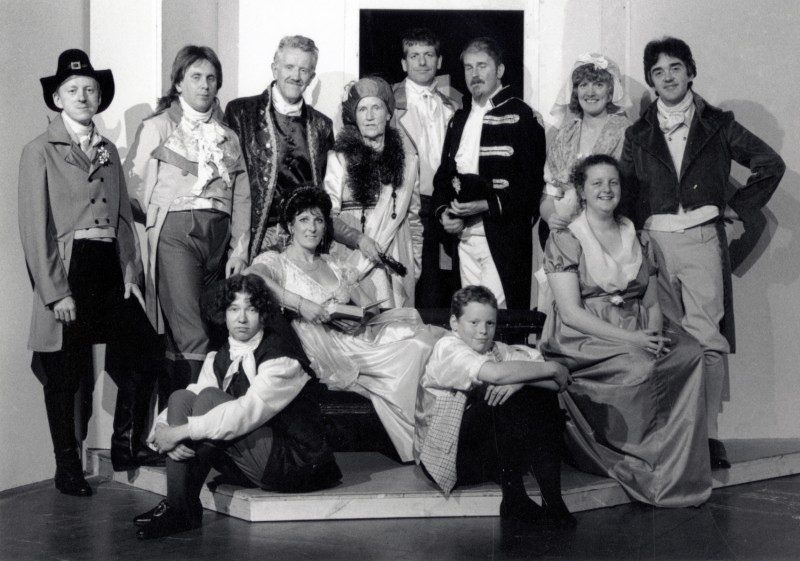 The Rivals, by Richard Sheridan, directed by Barbara Green, 27 June- 2 July 1994. Vaughan Leslie, Frank Butterworth, Hannah Stow, Phil Webb, Jacki Reed, Stuart Hought, Steve Jamieson, Jenny Gore, Kate Webster and Keith Washington.