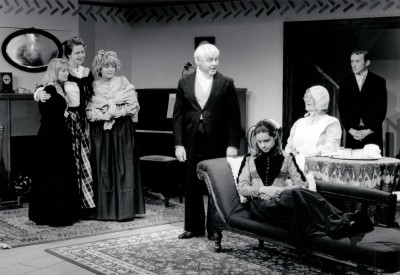 Little Women, adapted by Peter Clapham, directed by Claire Mobbs/ Jennifer Crossley, 25-30 November 1996. Catherine Hartley, ?, Lorna Wigg, Kenneth Marshall, ?, Joan Spencer and Craig Baillie.