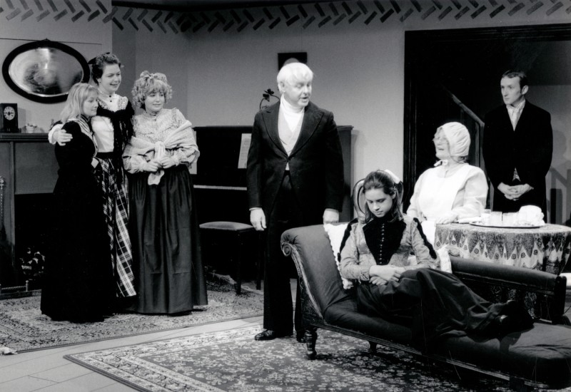 Little Women, adapted by Peter Clapham, directed by Claire Mobbs/ Jennifer Crossley, 25-30 November 1996. Catherine Hartley, Karen Reynolds, Lorna Wigg, Kenneth Marshall,Polly Scott, Joan Spencer and Craig Baillie.