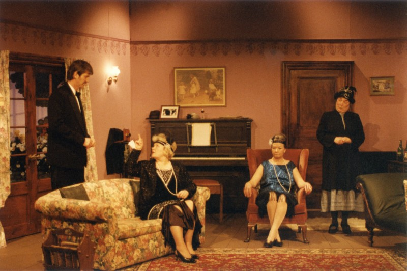 When We Are Married, by J.B. Priestley, directed by Jennifer Crossley, 29 April - 4 May 1996. Ray Riches, Joan Spencer, Ann Lomas, and Barbara Green.