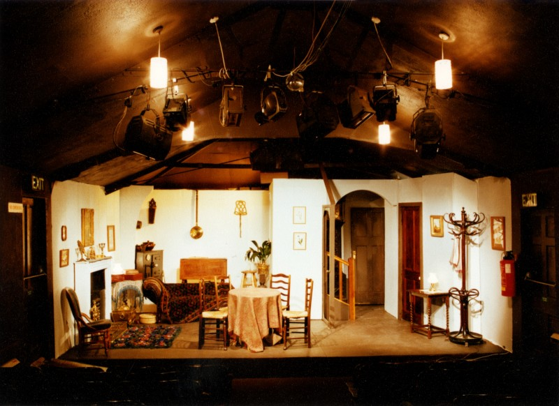 Set for Glasstown, by Noel Robinson, directed by Jennifer Crossley, 9-14 March, 1987.