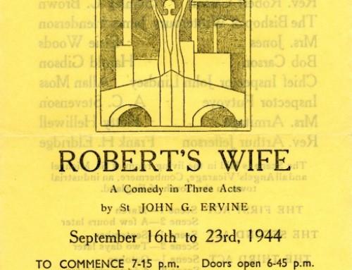 Robert's Wife, 1944