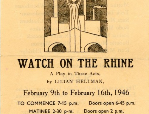 Watch on The Rhine, 1946
