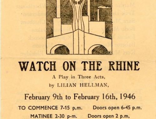 Watch on The Rhine, 1946