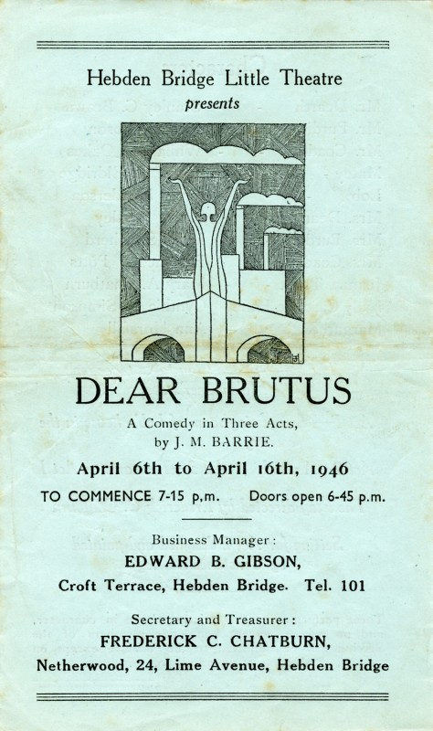 Programme for Dear Brutus, 1946