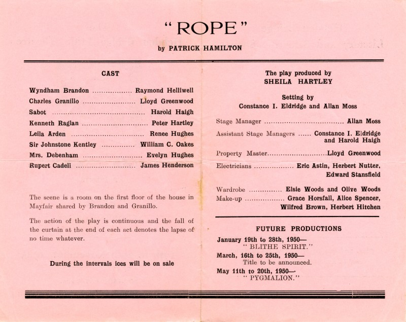 Rope, 1949