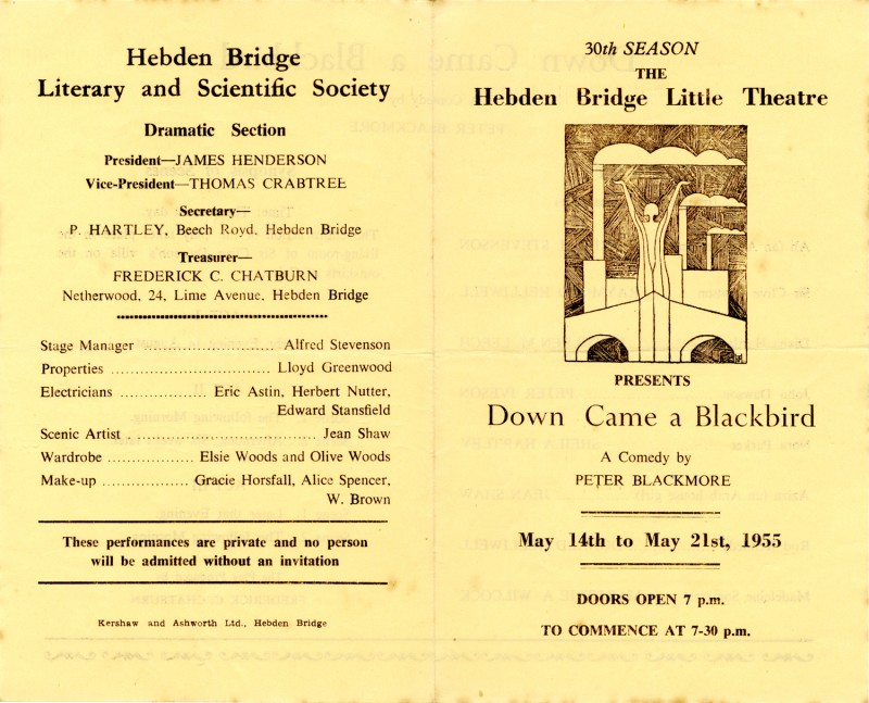 Down Came a Blackbird programme