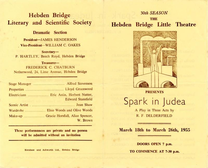Spark in Judea, 1955