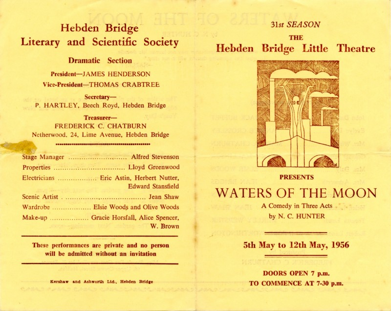 Waters of the Moon programme, 1956