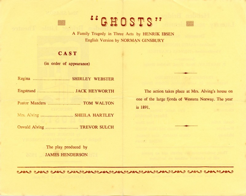 Ghosts, 1956