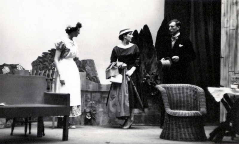Summertime, 1957. Brenda Greenwood, Dorothy Sutcliffe, Clifford Worthington