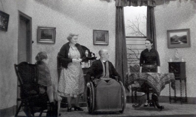 The Living Room, 1960, from Wilfred Brown's collection