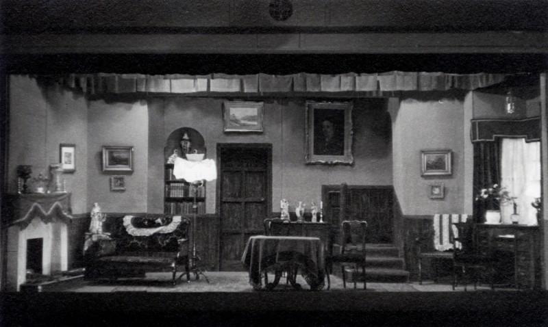 Set for The Late Edwina Black, 1961