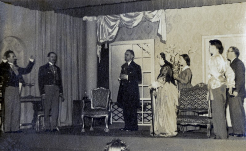 A Month in the Country, by Ivan Turgenev, adapted by Emlyn Williams, directed by James Henderson, 15-24 May 1952