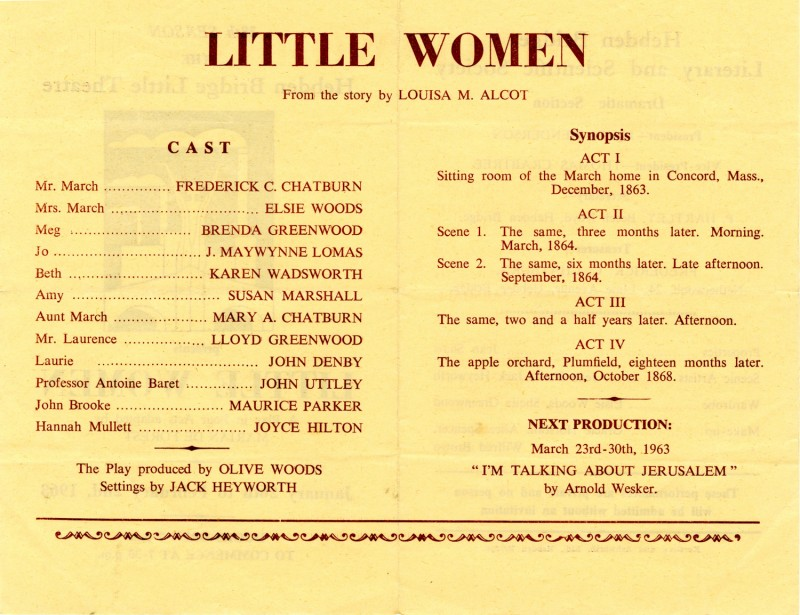 Little Women, 1963