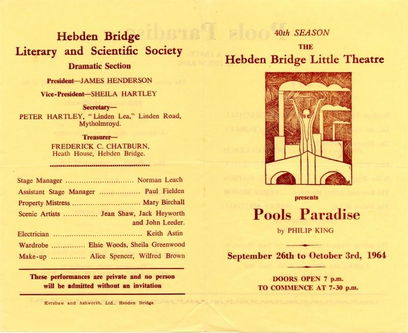 Pool's Paradise, 1964