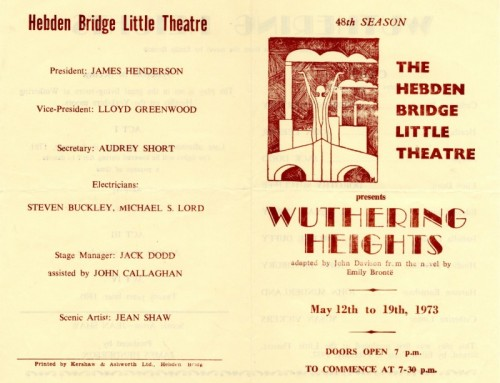 Wuthering Heights, 1973