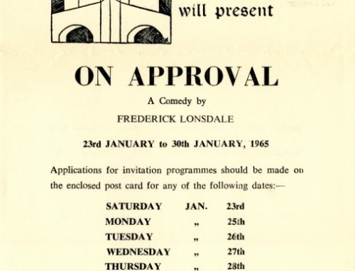 On Approval, 1965