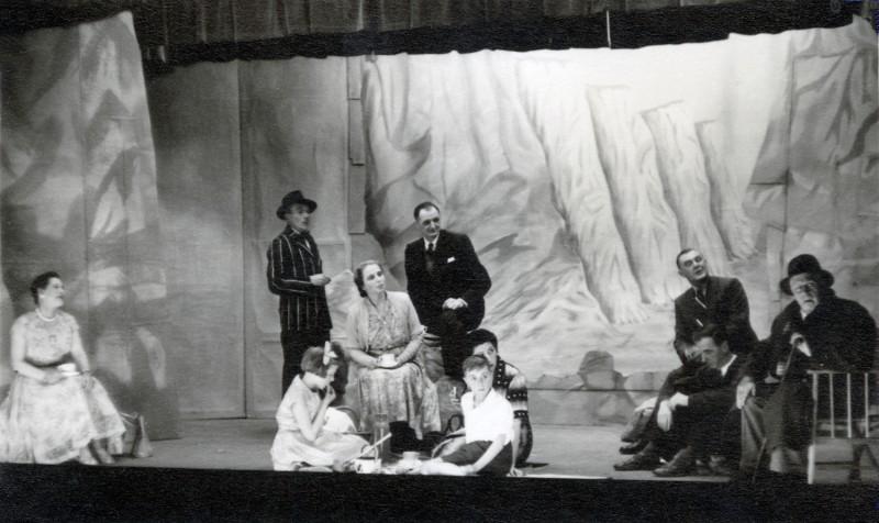 A Day by the Sea, by N.C. Hunter Directed by F.C. Chatburn, 11-18 May 1957