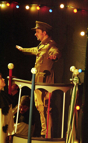 Oh! What A Lovely War, by Joan Littlewood, directed by Andrew Hamllin, 21-26 February 2000.
