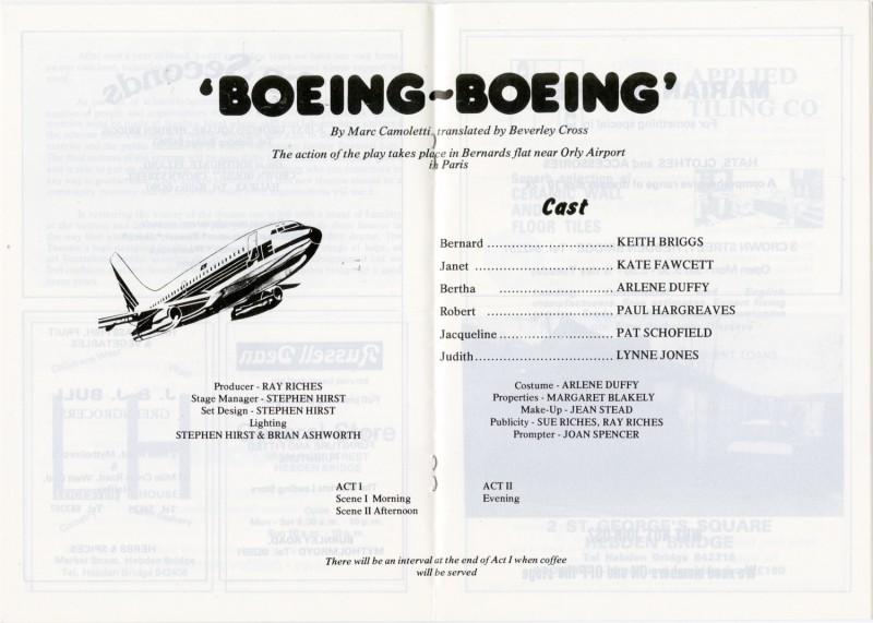 Boeing-Boeing, 1983