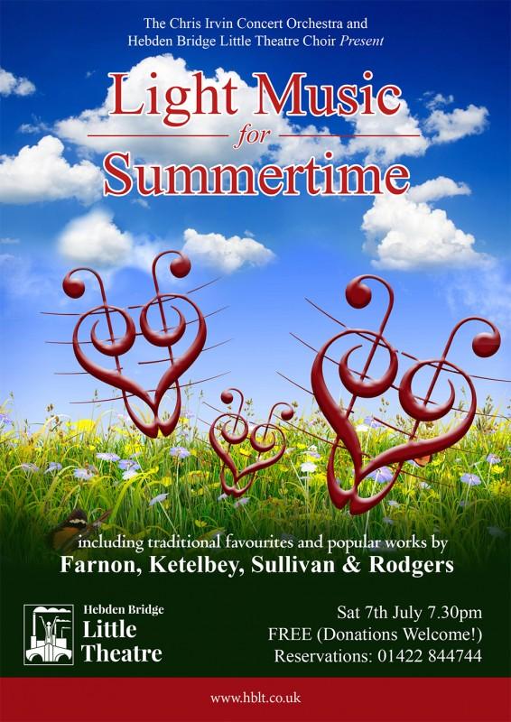 A Little Light Music poster