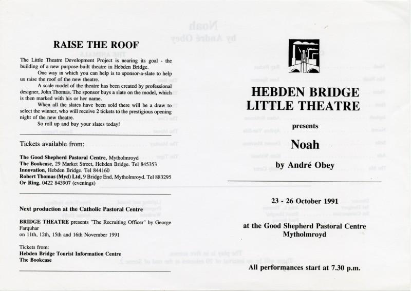 Noah, 1991