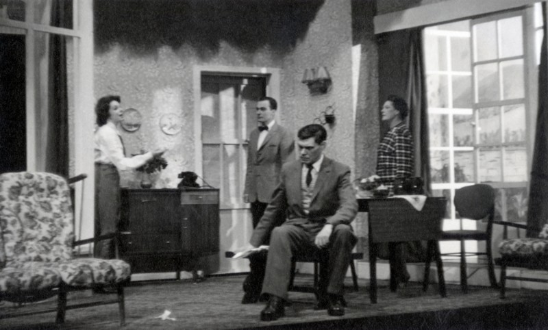Five Finger Exercise, by Peter Shaffer, directed by Mary Birchall, 2-9 December 1961