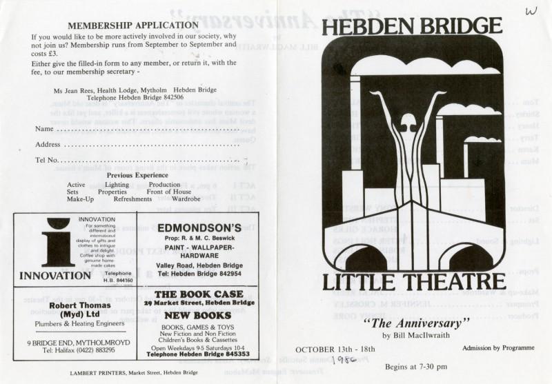 The Anniversary, 1986
