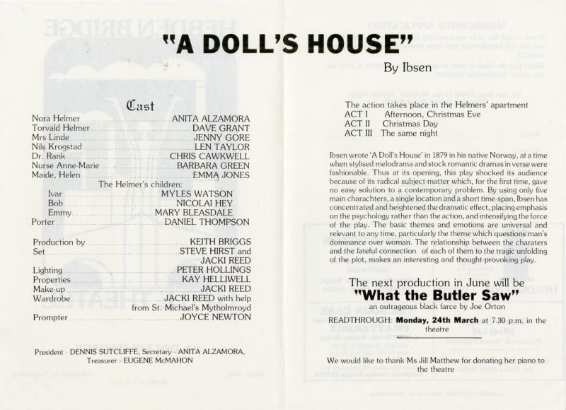 A Doll's House, 1986