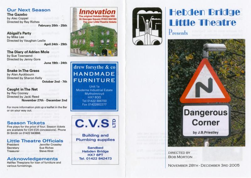 Dangerous Corner programme