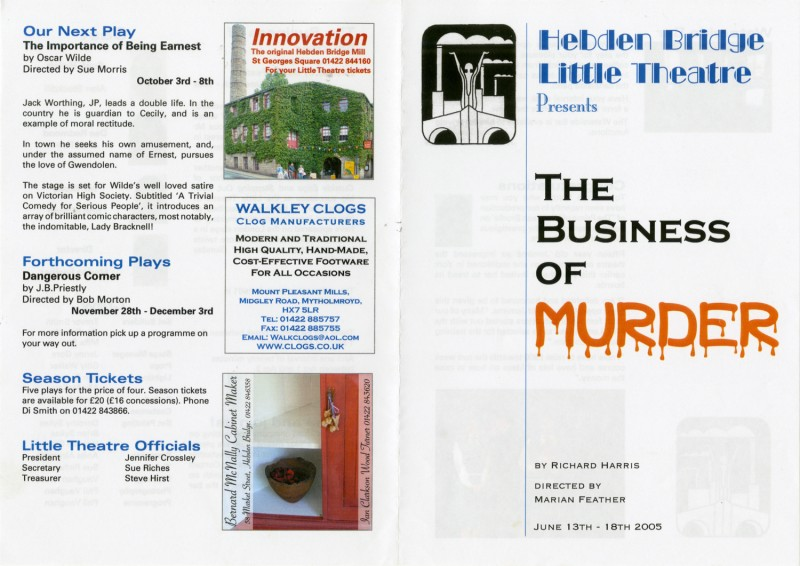 The Business of Murder