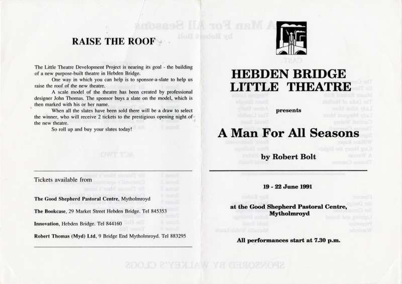 A Man For All Seasons, 1991