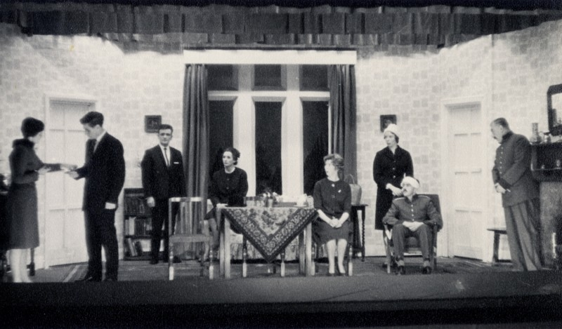 Off The Deep End, by Dennis Driscoll, directed by Nora Dodd, 25 September - 2 October 1965