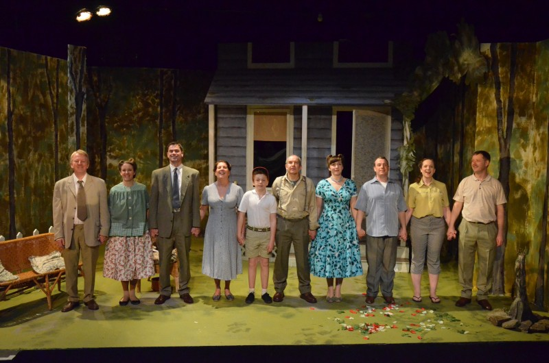 All My Sons, cast bow